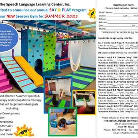 Photo 1 for The Speech Language Learning Center Summer Say Play